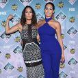 Nikki Bella et Brie Bella aux Teen Choice Awards 2016 le 31 juillet 2016 à Los Angeles.