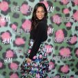 Rosario Dawson lors du lancement de la collection capsule Kenzo pour H&M ''Kenzo x H&M'' au Pier 36 à New York, le 19 octobre 2016. © Future-Image via ZUMA Press/Bestimage