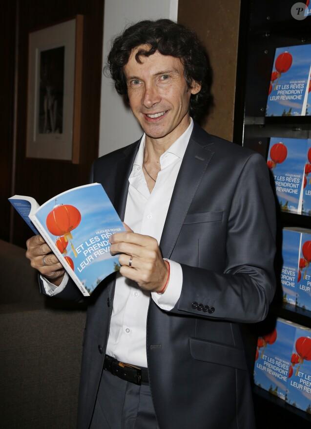 """Hugues Royer - Soirée du lancement du nouveau livre de Hugues Royer """" Et les rêves prendront leur revanche """" à l'hôtel Montalembert à Paris le 15 octobre 2015."""