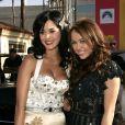 Katy Perry et Miley Cyrus MTV lors des Video Music Awards le 7 septembre 2008