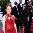 """Julianne Moore - Projection du film """"Les Fantômes d'Ismael"""" et cérémonie d'ouverture du 70e Festival de Cannes au Palais des Festivals. Cannes le 17 mai 2017."""