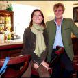 Caroline de Monaco et son mari Ernst August de Hanovre à une exposition privée des bijoux à Salzbourg en août 2008. Plus les années passent, plus le couple est épanoui...