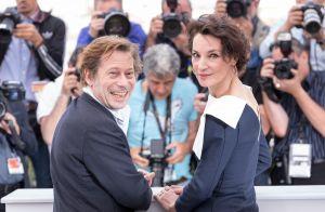 Mathieu Amalric avec son ex Jeanne Balibar :
