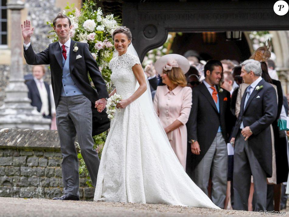 Bevorzugt Mariage de Pippa Middleton : Sublime robe glamour et invités de  XB72