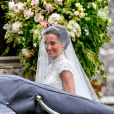 Pippa Middleton - Mariage de Pippa Middleton et James Matthews, en l'église St Mark's, à Englefield, Berkshire, Royaume Uni, le 20 mai 2017.