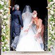 Mariage de Pippa Middleton et James Matthews, en l'église St Mark's, à Englefield, Berkshire, Royaume Uni, le 20 mai 2017.