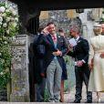 Spencer Matthews - Mariage de Pippa Middleton et James Matthews, en l'église St Mark's, à Englefield, Berkshire, Royaume Uni, le 20 mai 2017.