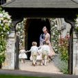 Catherine (Kate) Middleton, duchesse de Cambridge - Mariage de Pippa Middleton et James Matthews, en l'église St Mark's, à Englefield, Berkshire, Royaume Uni, le 20 mai 2017.