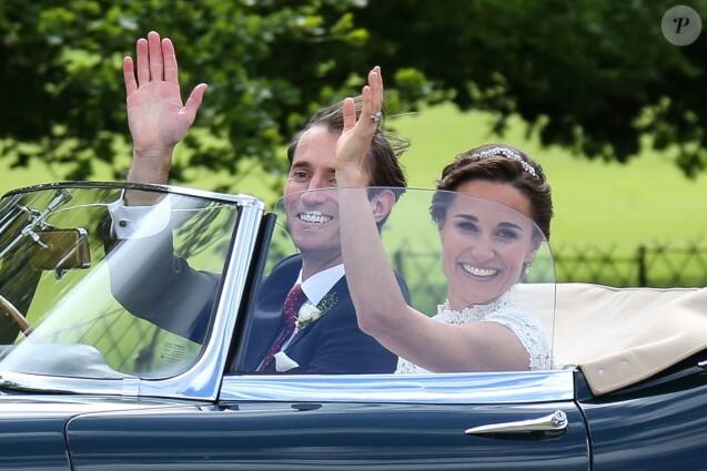 Mariage de Pippa Middleton  Jaguar, caviar, avion militaire le grand  luxe !
