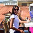 Naomi Campbell - Photocall du défilé de mode de sa fondation, Fashion For Relief, à l'Hôtel Five Seas en marge du 70e Festival de Cannes. Le 20 mai 2017. © Giancarlo Gorassini/Bestimage