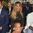 """Cathy Guetta - Défilé de mode de la fondation """"Fashion for Relief"""" à l'aéroport de Cannes-Mandelieu, en marge du 70e Festival International du Film de Cannes. Cannes, le 21 mai 2017."""