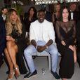 """Cathy Guetta, Akon et Leigh Lezark - Défilé de mode de la fondation """"Fashion for Relief"""" à l'aéroport de Cannes-Mandelieu, en marge du 70e Festival International du Film de Cannes. Cannes, le 21 mai 2017."""