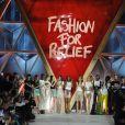 """Défilé de mode de la fondation """"Fashion for Relief"""" à l'aéroport de Cannes-Mandelieu, en marge du 70e Festival International du Film de Cannes. Cannes, le 21 mai 2017. © Giancarlo Gorassini/Bestimage"""