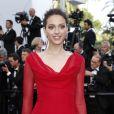La fille de Yannick Noah, Jenaye Noah, pour sa première montée des marches lors du 70e Festival International du Film de Cannes. Le 22 mai 2017. © Borde-Jacovides-Moreau/Bestimage
