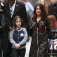 Salma Hayek et sa fille Valentina Paloma à Los Angeles le 29 mars 2016.