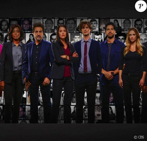 Esprits Criminels (Criminal Minds), visuel de la saison 12.