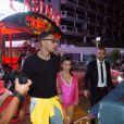 Kourtney Kardashian et son chéri Younes Bendjima, Kendall Jenner et Asap Rocky ainsi qu'Hailey Baldwin et Simon Huck vont au Gotha et au VIPROOM à Cannes le 25 mai 2017