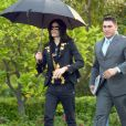 Michael Jackson dans les rues de Beverly Hills, le 15 mai 2009