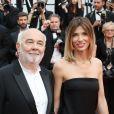 """Gérard Jugnot et sa compagne Patricia Campi - Montée des marches du film """"Twin Peaks"""" lors du 70ème Festival International du Film de Cannes. Le 25 mai 2017. © Denis Guignebourg / Bestimage"""