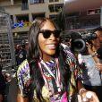 Serena Williams - 75e Grand Prix F1 de Monaco, le 28 mai 2017.