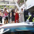 Gigi Hadid, Winnie Harlow - 75e Grand Prix F1 de Monaco, le 28 mai 2017.