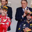 Sebastian Vettel, Daniel Ricciardo - 75e Grand Prix F1 de Monaco, le 28 mai 2017.