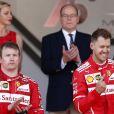 Kimi Räikkönen, Sebastian Vettel - 75e Grand Prix F1 de Monaco, le 28 mai 2017.