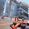 Kimi Raikkonen sortie de Stand - 75e Grand Prix F1 de Monaco, le 28 mai 2017. © Michael Alesi / Bestimage