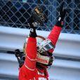 Vainqueur Sebastian Vettel - 75e Grand Prix F1 de Monaco, le 28 mai 2017. © Michael Alesi / Bestimage