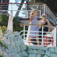 Exclusif - La chanteuse Tallia Storm et sa soeur Valentina Tessie Hartmann à l'hôtel du Cap-Eden-Roc à Antibes. Le 19 mai 2017.