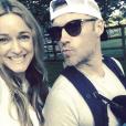 Ronan Keating et sa femme Storm ainsi que leur fils Cooper - Photo publiée sur Instagram au mois de mai 2017