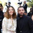 """Alysson Paradis et son compagnon Guillaume Gouix - Montée des marches du film """"Loving"""" lors du 69ème Festival International du Film de Cannes. Le 16 mai 2016."""