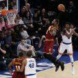 LeBron James lors du match New York Knicks v Cleveland Cavaliers à New York. Le 7 décembre 2016.
