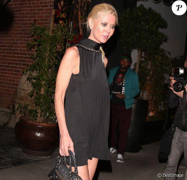Tara Reid est allée diner au restaurant Beauty & Essex à Hollywood, le 30 mai 2017