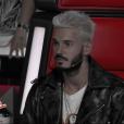 """M. Pokora dans """"The Voice 6"""" le 3 juin 2017 sur TF1."""