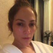 Jennifer Lopez sans maquillage : elle se dévoile au naturel avant un concert...