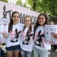 Des fans d'Ariana Grande à son concert One Love Manchester le 4 juin 2017
