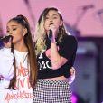 Ariana Grande et Miley Cyrus - Attentat de Manchester : 'One Love Manchester', concert exceptionnel organisé au profit des familles des victimes à Manchester le 4 juin 2017 © DaveHogan For OneLoveManchester/GoffPhotos.com via Bestimage