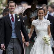 """Pippa Middleton : """"Elle a insisté"""" pour que son mari James porte une alliance"""