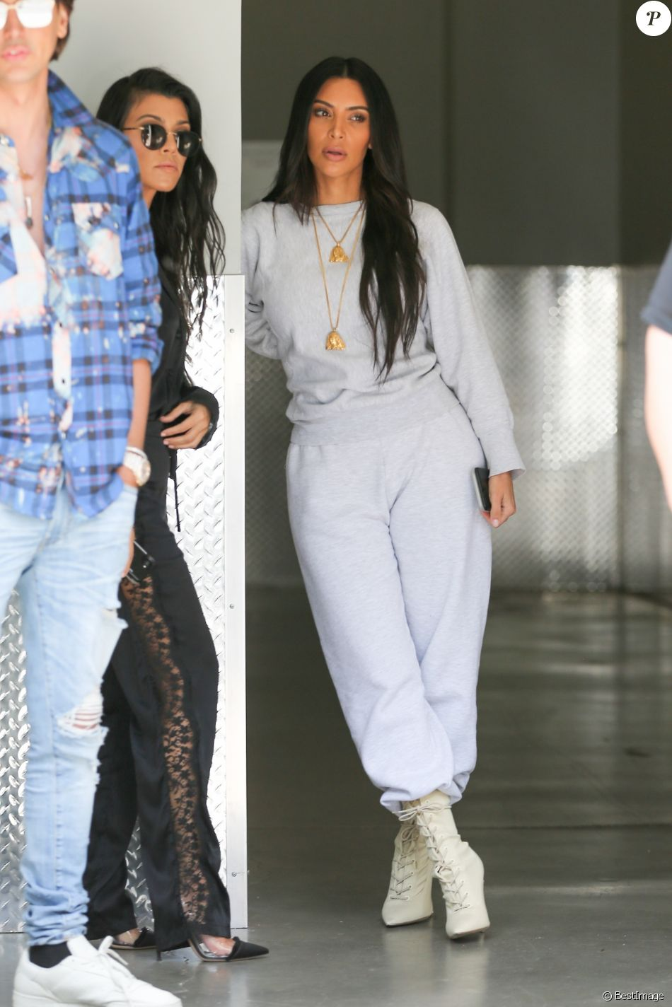 Tr猫s Mal Kim K A Kardashian Certainement Chaussure Ses Choisi kim SMUVpz