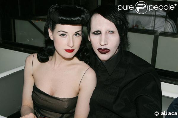 marilyn-manson-and-dita-von-teese | Tumblr