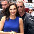 Gal Gadot arrive chez Good Morning America pour faire la promotion du film Wonder Woman à New York, le 23 mai 2017.