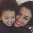 Rachel Legrain-Trapani avec son fils Gianni. Photo postée sur Instagram le 2 janvier 2017.