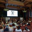 """Ambiance - Cérémonie de clôture des """"Rencontres Philosophiques de Monaco"""" au Musée Océanographique à Monaco, le 8 juin 2017.  Christian Alminana/Montblanc via Bestimage"""