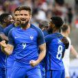 Olivier Giroud - Match de football amical France - Angleterre (3-2) au Stade de France , le 13 juin 2017. © Pierre Perusseau/Bestimage