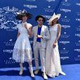 Céline Horwang et Chalida Vijitvongthong - 168e Prix de Diane Longines à l'hippodrome de Chantilly, France, le 18 juin 2017. © Giancarlo Gorassini/Bestimage