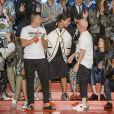 """Défilé """"Dolce & Gabbana"""", collection masculine printemps-été 2018 à Milan. Le 17 juin 2017."""