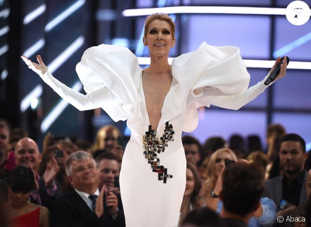 Céline Dion aux Billboard Music Awards le 21 mai 2017 à Las Vegas