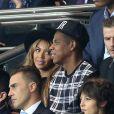 Beyonce, Jay-Z, Fabio Cannavaro - People assistent au match PSG-Barcelone de la Ligue des Champions 2014 au parc des princes à Paris le 30 septembre 2014.