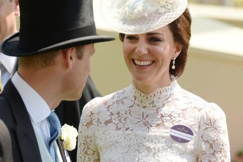 Kate Middleton, tout en élégance et transparence pour le Royal Ascot